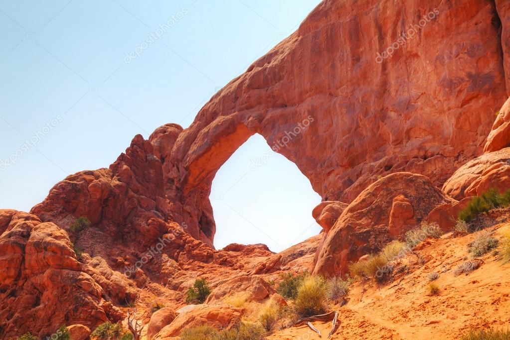 North Window Arch in Utah
