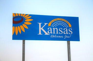 Kansas welcomes you sign