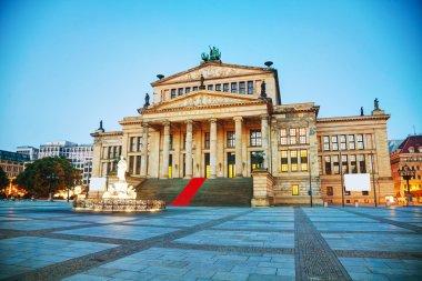 Concert hall (Konzerthaus) at Gendarmenmarkt square in Berlin