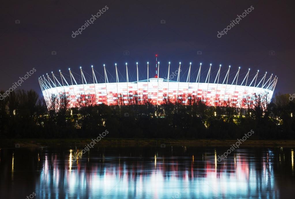 Stade De Football 224 Varsovie Pologne Photo 233 Ditoriale