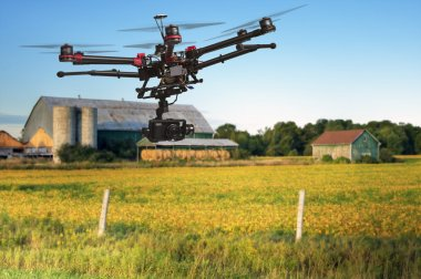 Aerial Farm patrol