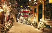 Vzdušný vánoční dodání
