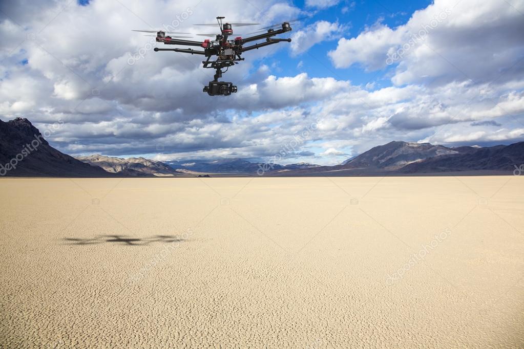 Racetrack Playa aerial patrol