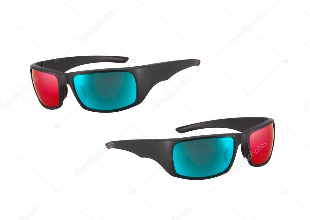 d890c3b180449e plastic bril geïsoleerd — Stockfoto © shutswis  82998440