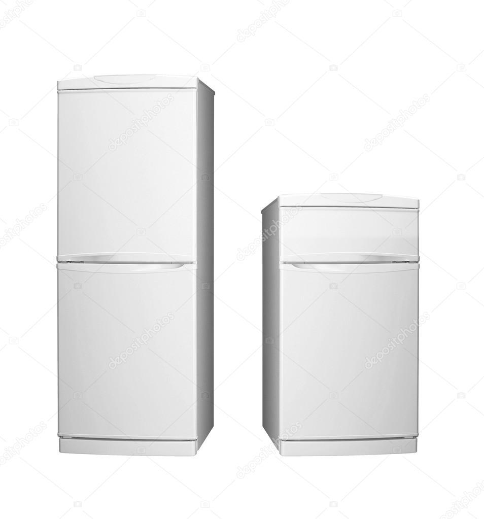 Große und kleine Kühlschränke — Stockfoto © shutswis #82998600
