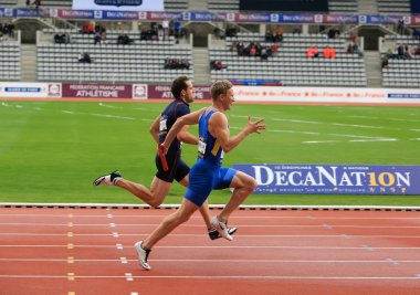 DecaNation International Outdoor Games on September 13, 2015 in Paris, France