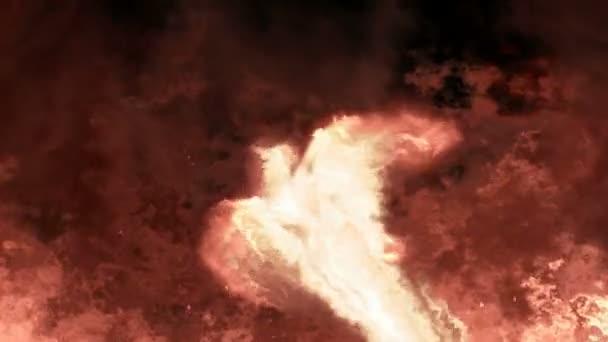 Phoenix rising-lángok