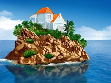 home at island