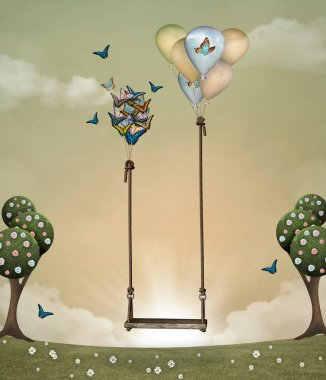Surreal swing