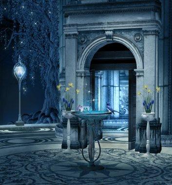 Elves palace terrace