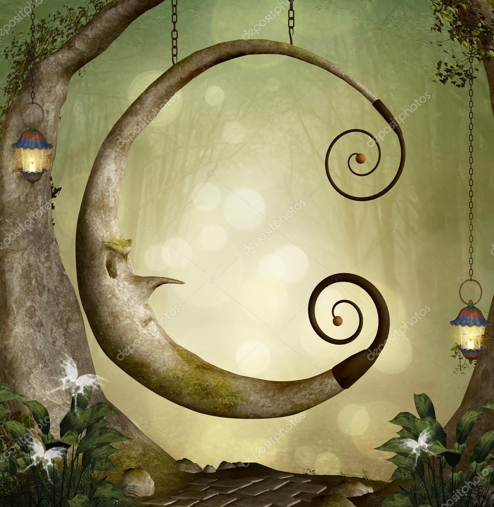 Fantasy moon swing