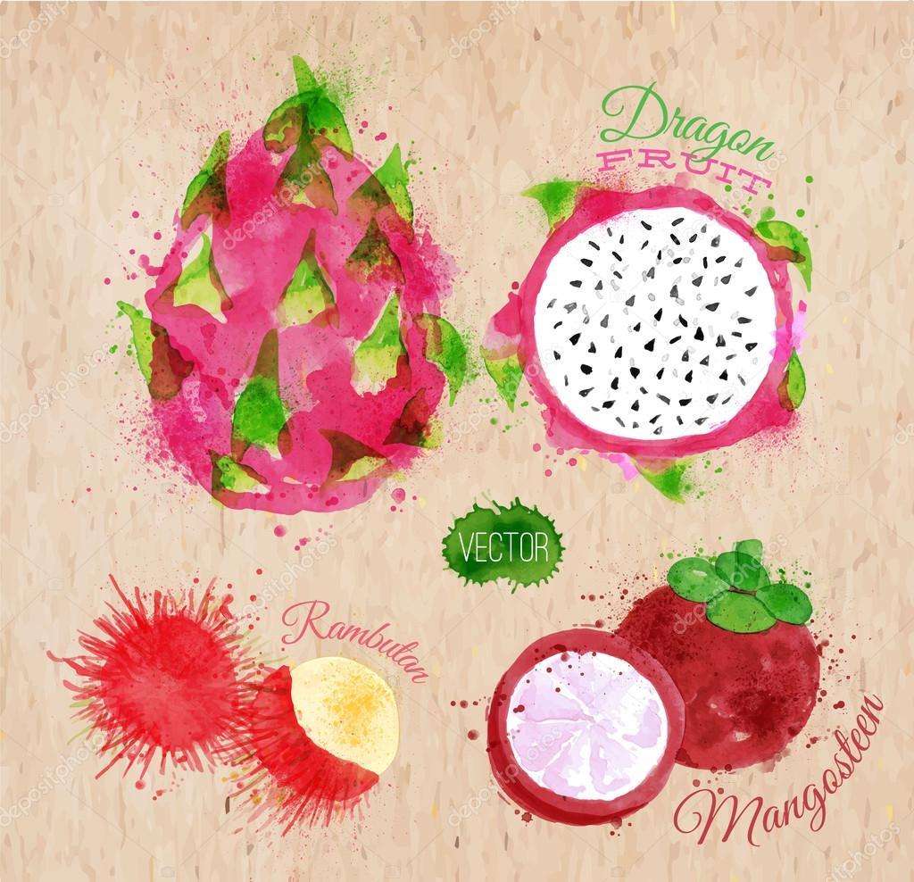 фрукт рамбутан фото