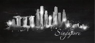 Silhouette chalk Singapore