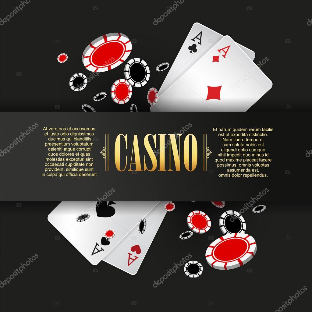 カジノ ポスター テンプレート ストックベクター sonulkaster 112285220