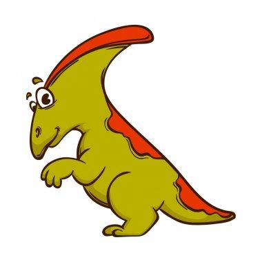 cute cartoon  Dinosaur monster