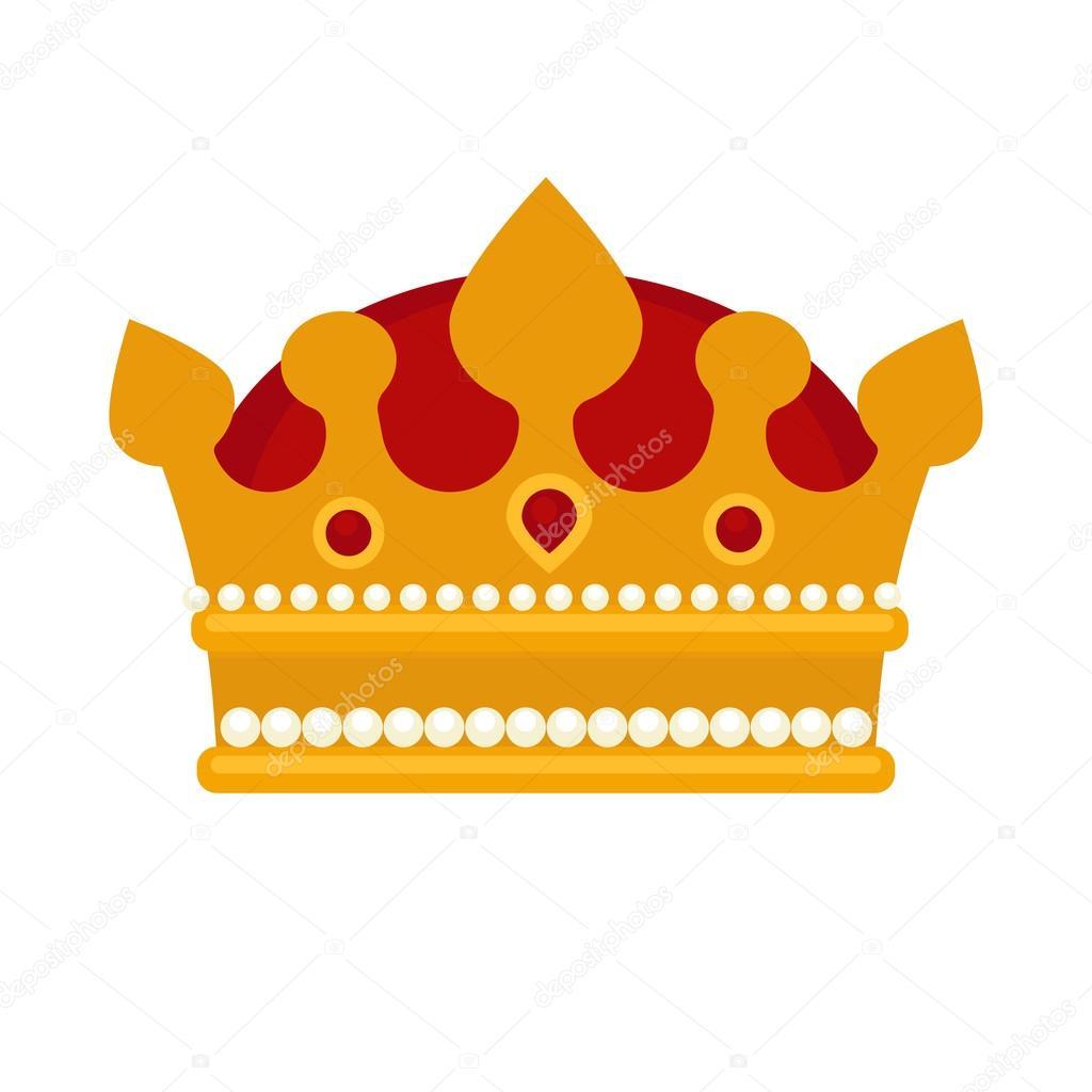 gold crown icon � stock vector 169 sonulkaster 120105210