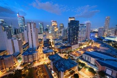 Makati Skyline, Manila - Philippines.