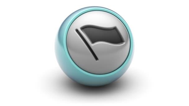 Ikona příznaku na míč