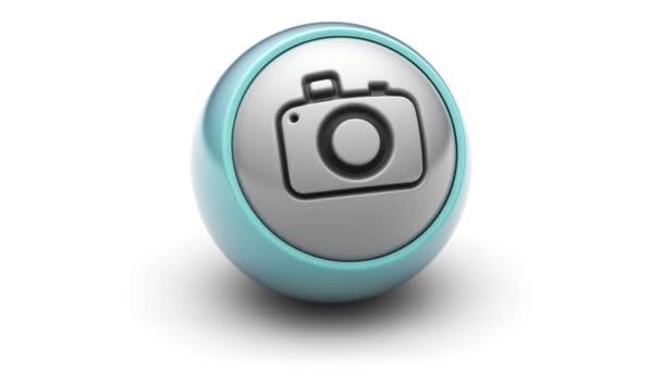 Ikona kamery na míč.
