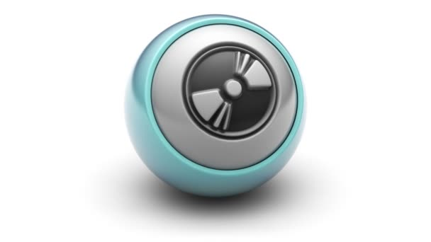 Disk icon on the ball.