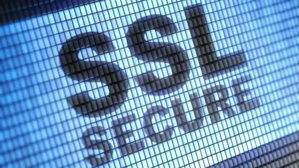 SSL Secure a képernyőn.