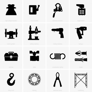 Set of industrial objects