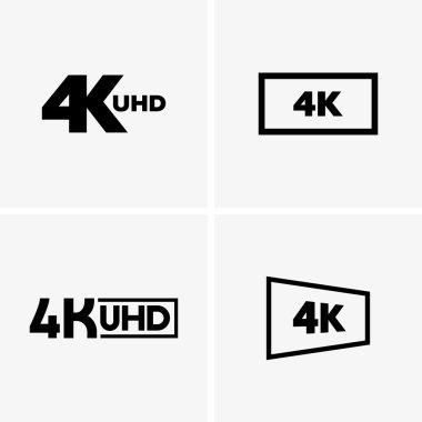 Set of 4k labels