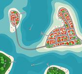 Ostrovní ráj zobrazení