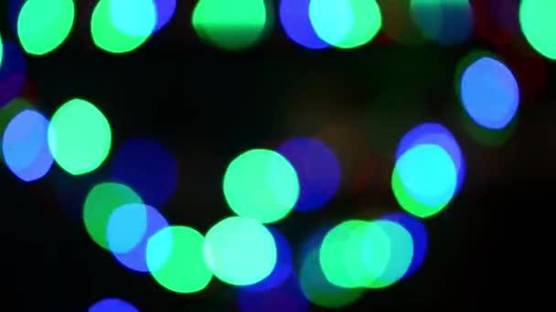 Weihnachtsbeleuchtung — Stockvideo © blazeofglory #57853657