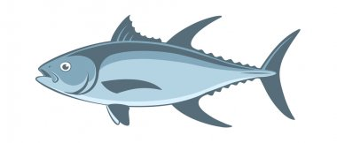 blue tuna fish
