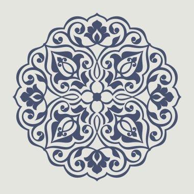 Persian round pattern.