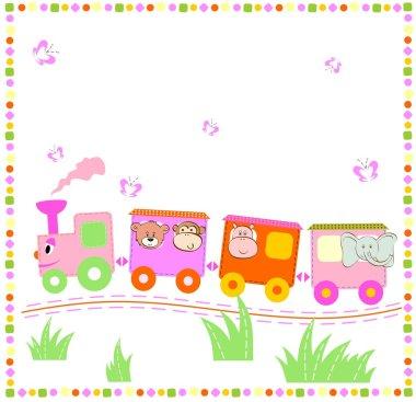 Cheerful train