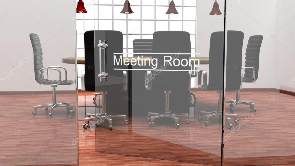 Puertas de oficina modernas interior de una oficina for Puertas de cristal para oficina