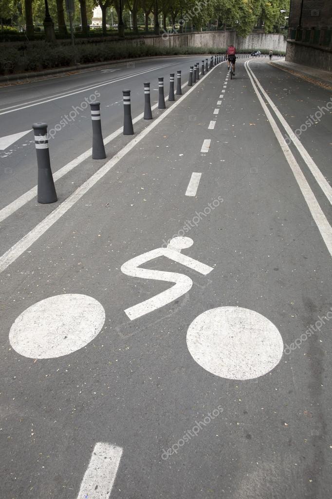 Bike Lane Symbol Stock Photo Kevers 97592424