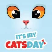 Es ist mein Katzentag.