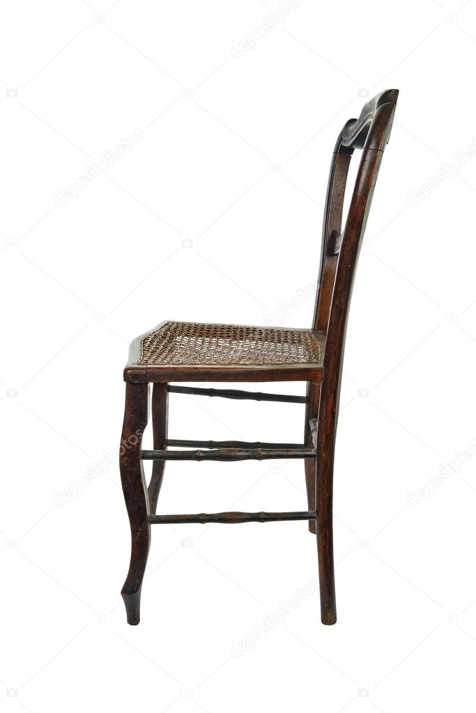 Antique side chairs with cane seats | Antique wooden chair ...