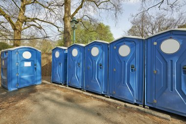 Biological portable toilets