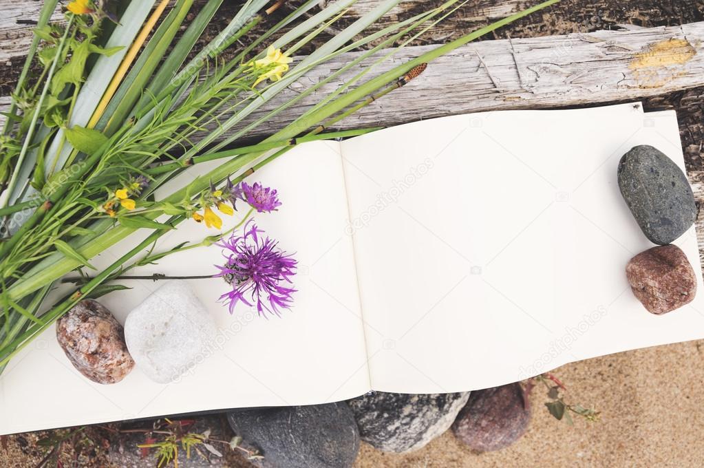sketch book, mock up