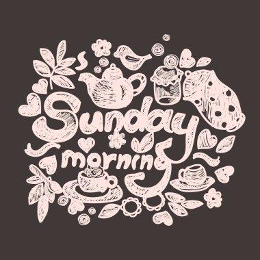 Sunday morning doodles