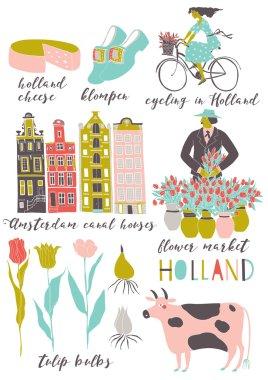 symbols set of Holland
