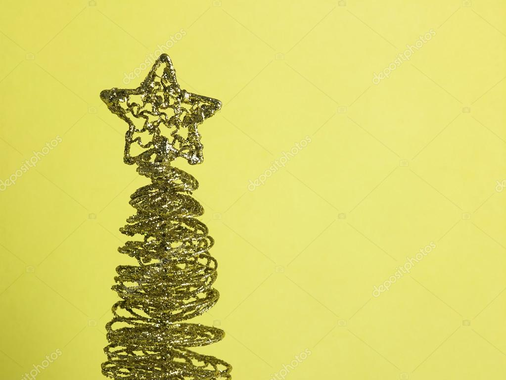Wired Christmas Tree U2014 Stock Photo