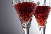 a pohár vörös bor