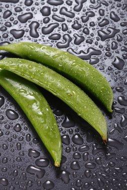 Pea pod and peas