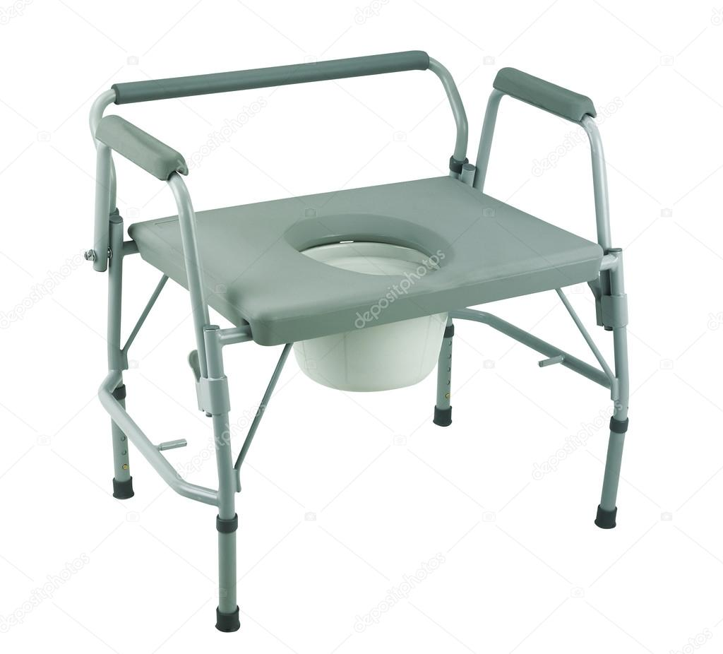 Toilet-chair for disabled people — Stock Photo © eskaylim #65071415