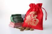 Fotografia Lucky bag con soldi