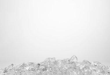 Wet ice cubes