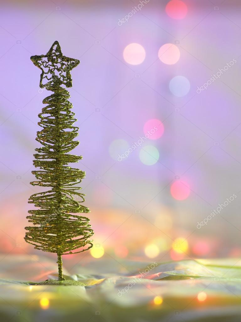 Attractive Wired Christmas Tree U2014 Stock Photo