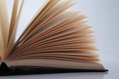 Fanned book pages