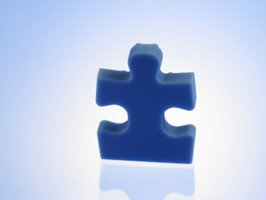 Last piece of a jigsaw puzzle