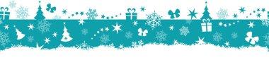 Seamless winter, Christmas border